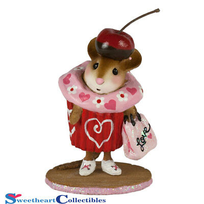 Wee Forest Folk Valentine Cupcake Treat M574E Limited New 2017