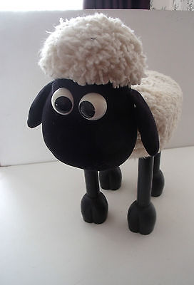Shaun The Sheep Foot Stool - Timmy Time - Wallace & Gromit  1989 Vintage Boots