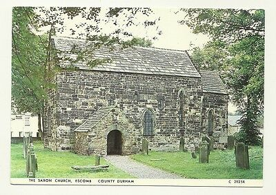 Escomb - a larger size, photographic postcard of the Saxon Church