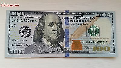 Lucky Rare*serial Number Solid 2999 $100 One Hundred Dollar Bill Unc-
