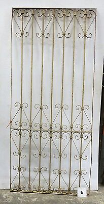 Antique Egyptian Architectural Wrought Iron Panel Grate (I-06)