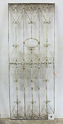 Antique Egyptian Architectural Wrought Iron Panel Grate (I-09)