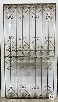 Antique Egyptian Architectural Wrought Iron Panel Grate (I-10)