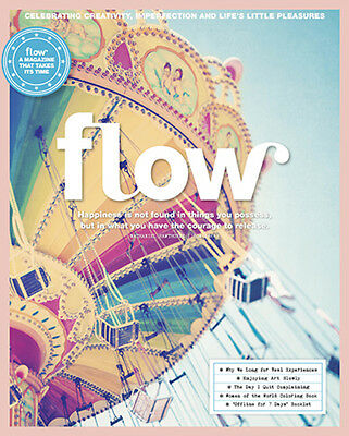 Flow Magazine Issue 16/magazine For Paper Lovers January 2017 French Issue