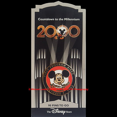 Disney Store Countdown To The Millennium #91 Mickey Mouse Club 1955 Pin