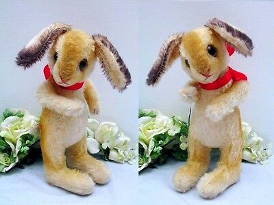 STEIFF EASTER RABBIT, 25 cm with button