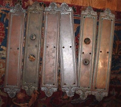 High end Brass Entrance door cast  back plates for Victorian front door