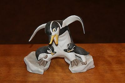 Franklin Mint PENGUIN FIGURINE - WHICH WAY?