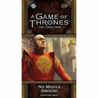 A Game of Thrones LCG 2nd Edition No Middle Ground Chapter Pack Brand New