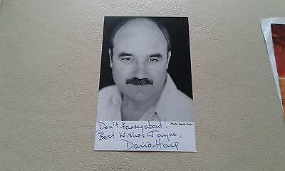 David Haig signed Autographed Photo picture Thin Blue Line