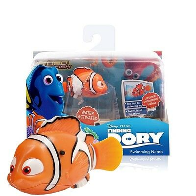 Disney Finding Dory  Robot Robo Fish Water Activated Toy - Swimming Nemo 22783