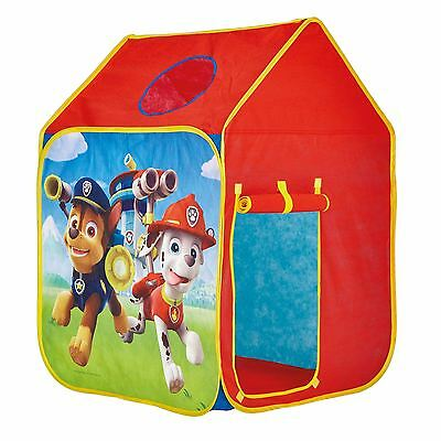 Paw Patrol Wendy House Kids Indoor & Outdoor Play Tent Chase, Marshall, Ryder