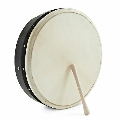 "New 16"" Under Tuneable Bodhran with Bag and Beater"