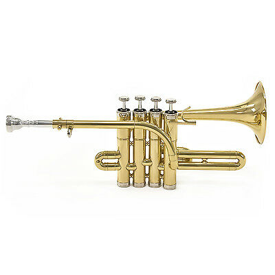 New Coppergate Piccolo Trumpet, By Gear4music with Hard Case, By Gear4music