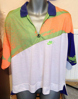 The Rarest NIKE ANDRE AGASSI XL CHALLENGE COURT TOP SHIRT TENNIS 90's 52""