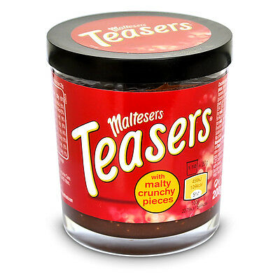 Maltesers Teasers Chocolate Spread with Crisp Honeycombed Brotaufstrich 200g