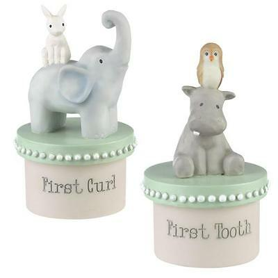Grasslands Road First Tooth & First Curl Boxes Set Gift Boxed