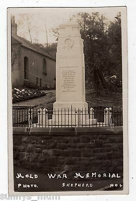 Wales, Mold, The War Memorial, Rp