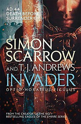 Invader, Andrews, T. J., Scarrow, Simon, New condition, Book