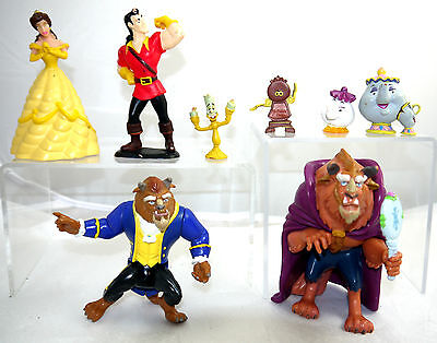 Huge Lot Of Disney Beauty And The Beast Toys Figures Toy Lot  B&b1