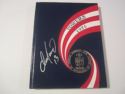 Dan Marino Dolphins Signed Autographed Catholic Central High Yearbook JSA COA