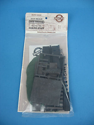 Ratio 505 Coaling Stage OO/HO Gauge 4mm Scale Building Kit -  NEW!