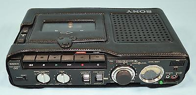 * Sony TCM-5000EV Three Head Cassette Recorder with Carry Case