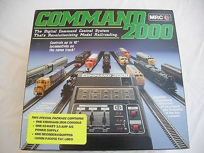MRC AD110 Command 2000, DCC Digital Control System, UP FA1 Loco &Power, HO Scale