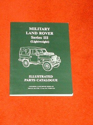 Military Land Rover Series III (Lightweight) illustrated parts catalogue