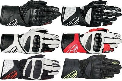 Alpinestars SP-8 Leather Street Motorcycle Gloves All Sizes All Colors