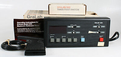 Digital Gralab Timer And Footswitch New In Boxes