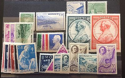 £££ Monaco - timbres / stamps - MNH** - année 1946