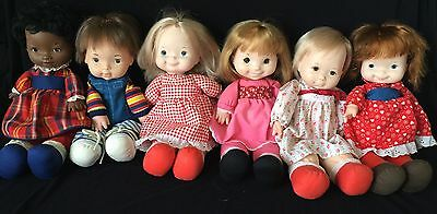 Lot Of 6 Fisher Price Lap Sitters - Elizabeth, Natalie, Joey, Ann, Mary, Audrey!