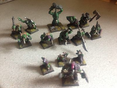 Pro Painted Mordheim Orc Warband