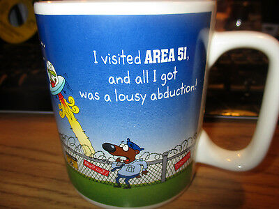 I Visited AREA 51 And All I Got Was This Lousy Abduction Coffee Mug NEW MEXICO