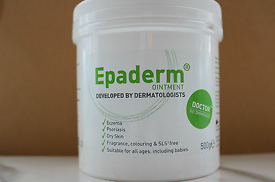 EPADERM OINTMENT - 500G Eczema Psoriasis Dry Skin *** For all ages * Babies***)