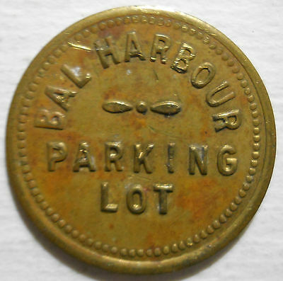 Bal Harbour Parking Lot (Florida) parking token - FL3050E
