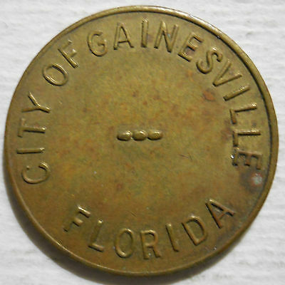 City of Gainesville(Florida) parking token - FL3300B