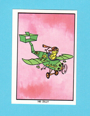 Zilly Vulture Squad Airplane Vintage 1973 Hanna Barbera Spanish Card