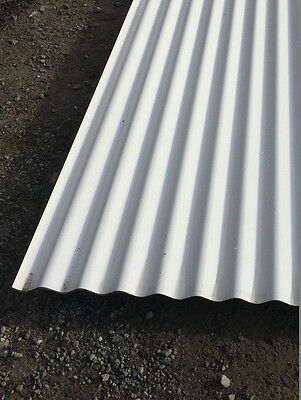 Clearance Colorbond Surfmist Corrugated 3050mm Roofing Sheets 1311
