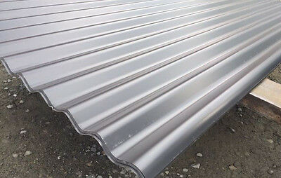 Clearance Colorbond Monument Corrugated 5210mm Roofing Sheets 1314