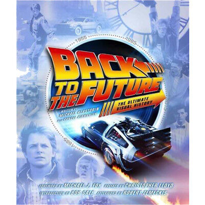 Back to the Future The Ultimate Visual History Book By Michael Klastorin NEW UK