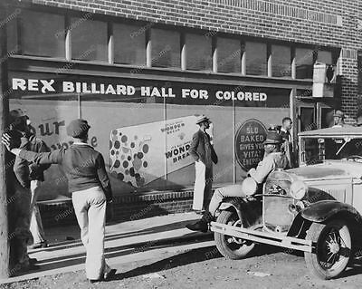 Rex Pool Hall for Colored  see Professional Photo Lab Reprint