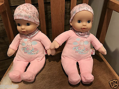 My First Baby Annabell Newborn Dolls 2 New NOT Boxed