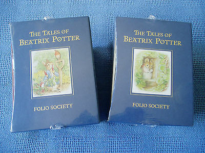 Folio Society * The Tales Of Beatrix Potter * Hc In 2 Slipcases * New And Sealed