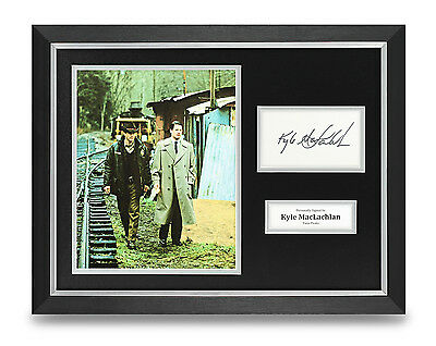 Kyle MacLachlan Signed Photo Framed 16x12 Autograph Twin Peaks Memorabilia COA