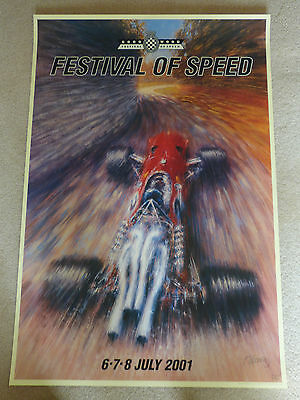 Goodwood Festival Of Speed Limted Edition Poster  Poster 2001