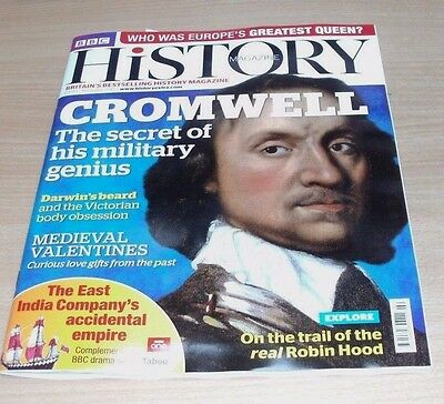 BBC History magazine FEB 2017 Cromwell, Medieval Valentines, Real Robin Hood &