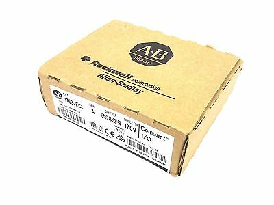 New Sealed Allen Bradley 1769-Ecl Series A Left End Cap Terminator