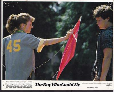 Lucy Deakins Jay Underwood The Boy Who Could Fly 1986 original movie photo 20097